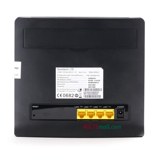 HUAWEI B390s-2 back lan ports