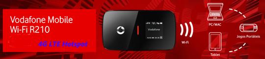 Vodafone R210 4G LTE Mobile WiFi Hotspot(also named HUAWEI E589