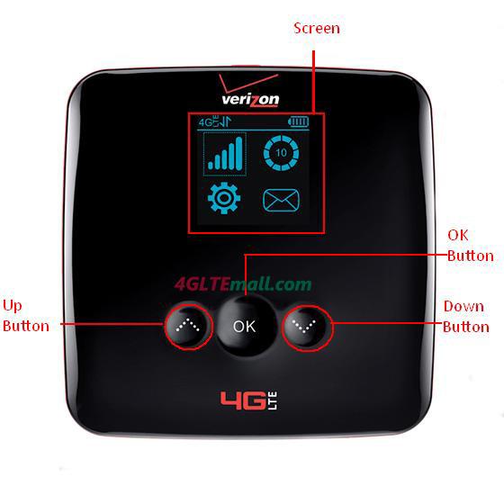 Verizon JETPACK EuFi890 ZTE 4G HOTSPOT
