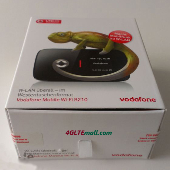 Vodafone R210 4G LTE Mobile WiFi Hotspot package