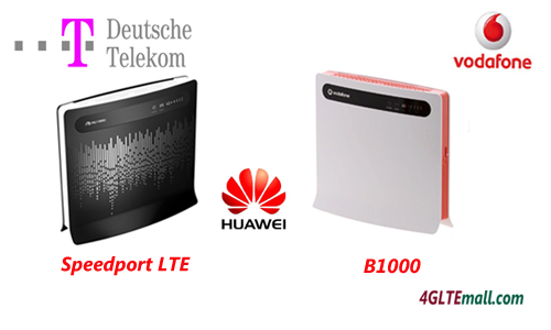 vodafone B1000 and speedport LTE telecom compare