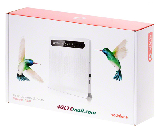 vodafone B2000 LTE ROUTER PACKAGE