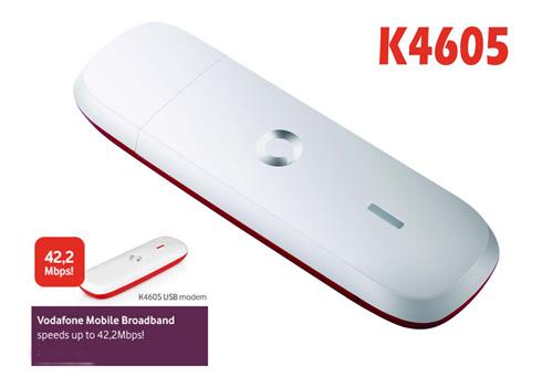 Vodafone K4605 3G HSPA+ 42mbps USB Modem