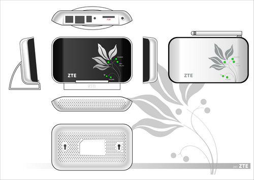 ZTE MF23 3G Wireless Router