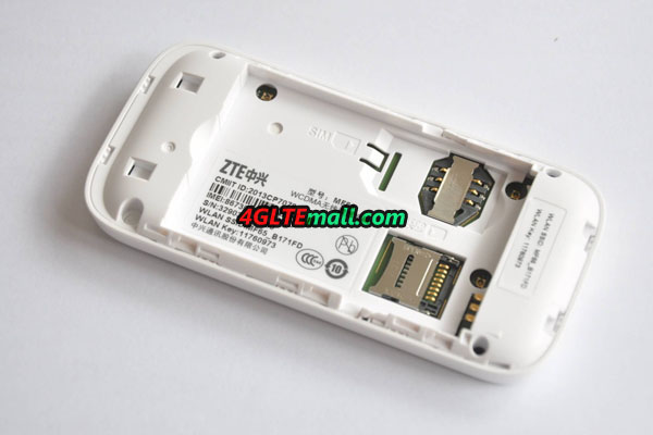 ZTE MF65 sim card slot