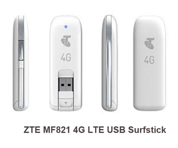 ZTE MF821 4G LTE Surfstick Reviews & Specs