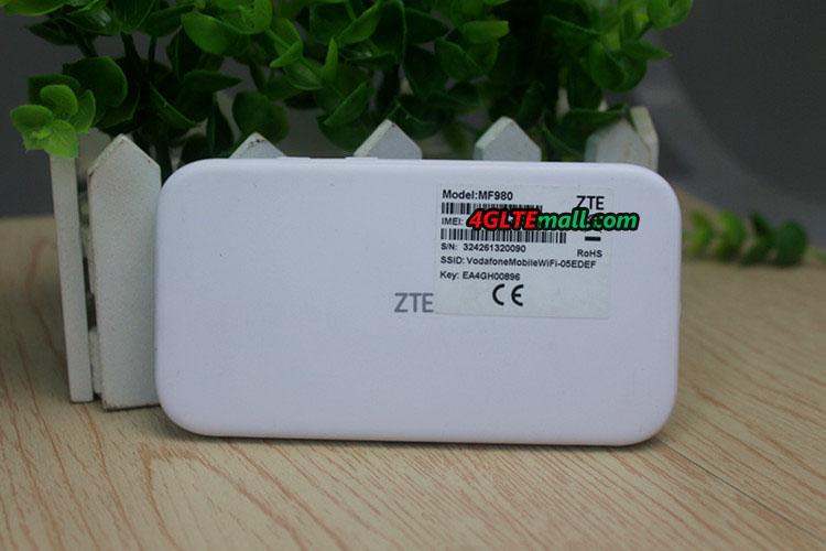 ZTE MF980 back