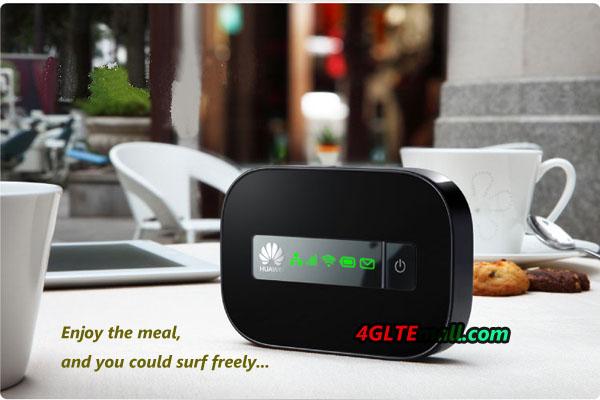 HUAWEI E5151 WAN LAN WIFI Router application at leisure time