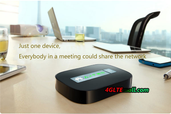 HUAWEI E5151 WAN LAN WIFI Router application at a meeting time