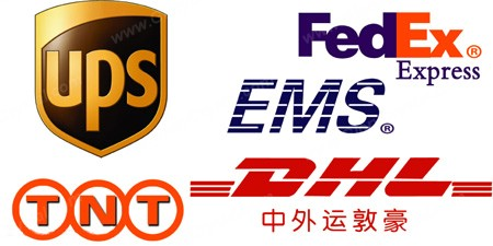DHL FEDEX TNT EXPRESS CARRIERS