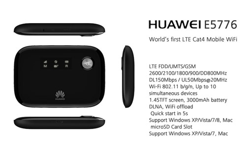 HUAWEI E5776 4G LTE Router