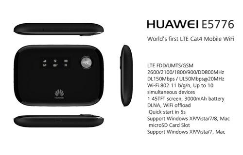 HUAWEI E5776 4G LTE Router