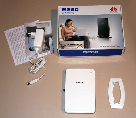 package content of HUAWEI B260A