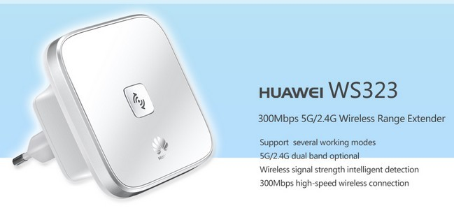 HUAWEI WS323 300Mbps 5G/2 4G Wireless Extender
