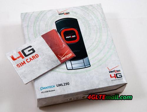 user manual of Pantech UML290 4G USB Modem