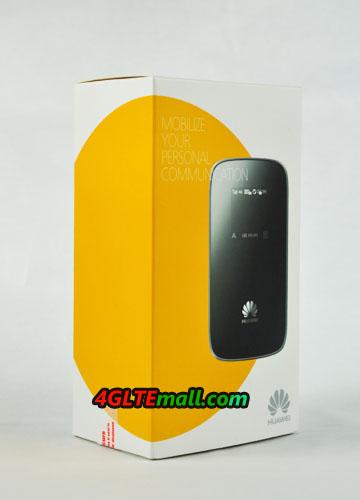 Package box of HUAWEI E589