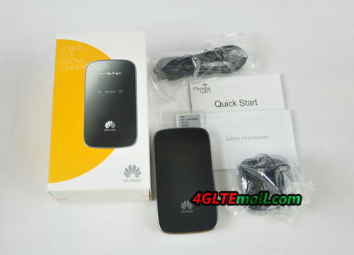 package contents of HUAWEI E589